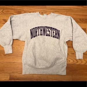 Vintage champion reverse weave northwestern